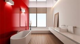 GW - SC - Perete baie placata cu sticla colorata 1