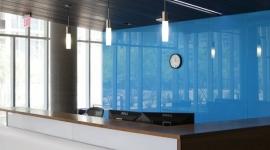 GW - SC - perete birou placata cu sticla colorata