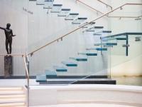 Trepte / Pardoseli din sticlă